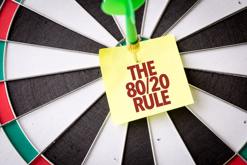 Applying the 80/20 Rule when Running your Vet Rehab Practice