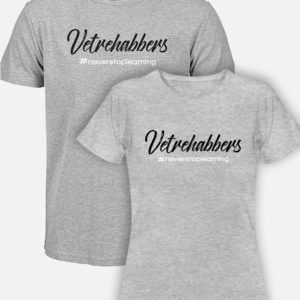 Vetrehabbers Grey Tshirt choice